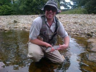 Nice grayling for Chris