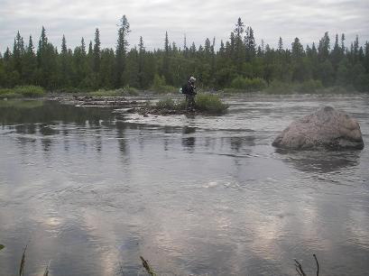 Fly Fishing in Northern Sweden