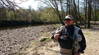 Durham Fly Fishing Company Guide Stuart Wardle