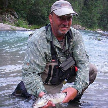 Stuart Wardle Fly Fishing Guide at The Durham Fly Fishing Company